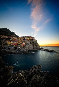 Manarola Village Sunrise 2