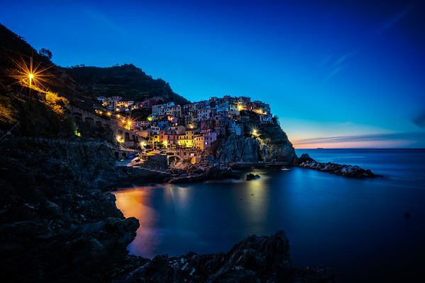 Manarola Village Sunrise