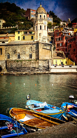 Vernazzo Boats