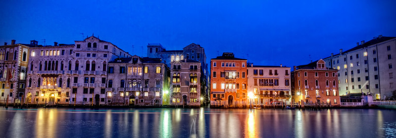 Venetian Waterfront Evening