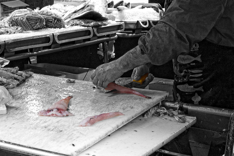 Rialto Market Fish Work