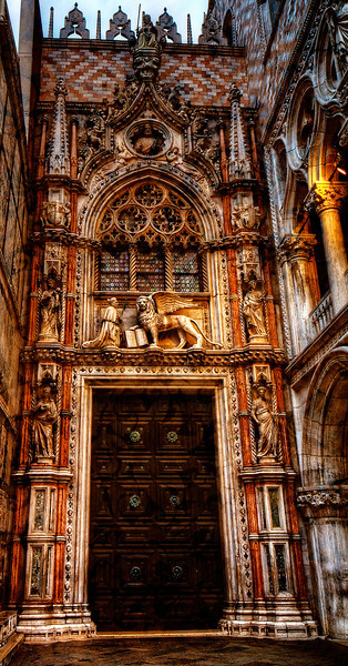 Doge's Palace Door