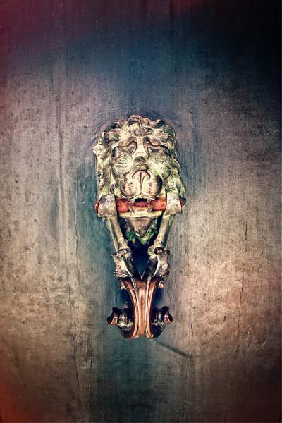 Lion Door Knob