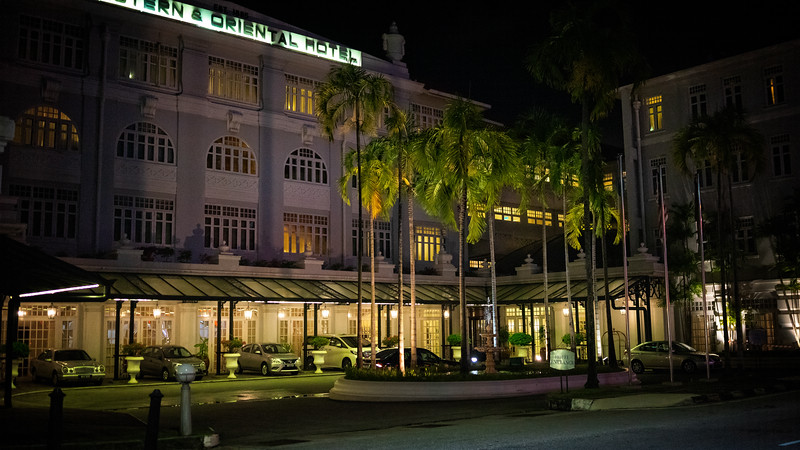 E&O Hotel Penang Evening