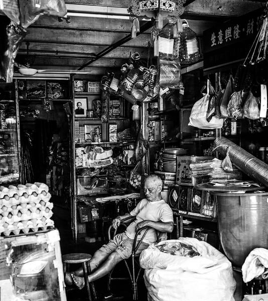 Penang Shopkeeper Siesta