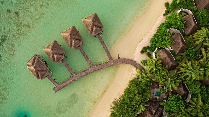 4 Water Villas Aerial