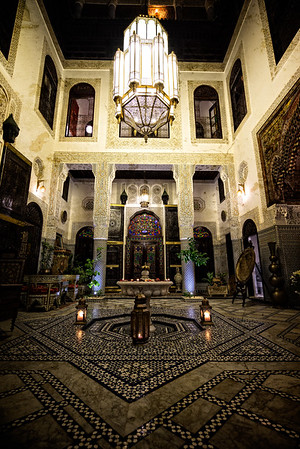 Riad Maya Courtyard 1
