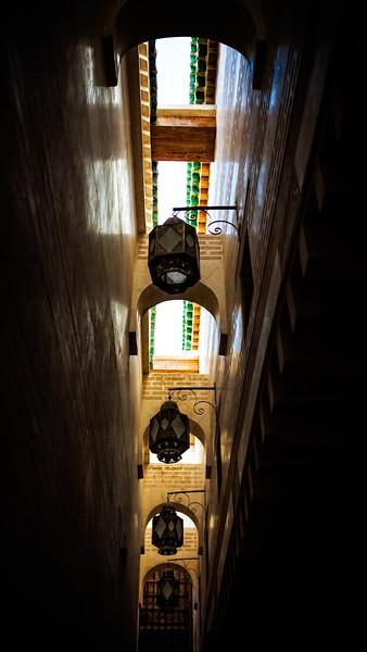 Kairaouine Mosque Lanternes