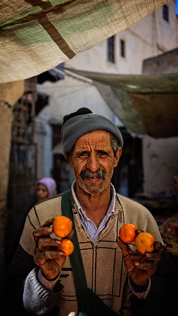 The Orange Seller