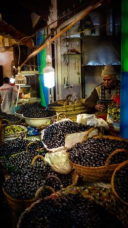 Olive Seller