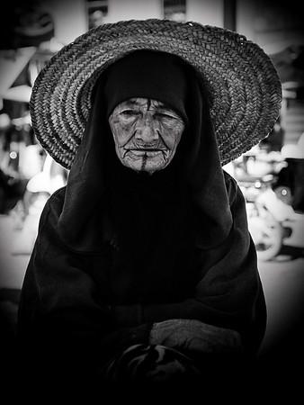 Berber Woman 1 (B&W)