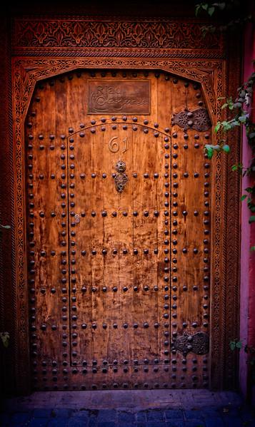 Riad Door