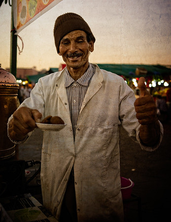 Marrakech Tea Seller
