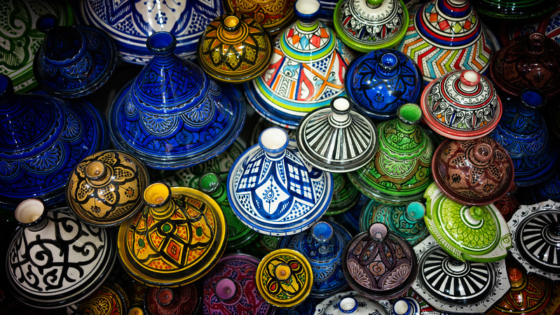 Colourful Tagines