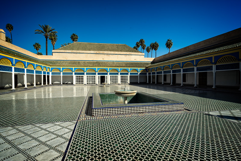 Bahia Palace Main Courtyard