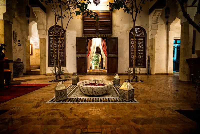 Riad Zolah Courtyard 1