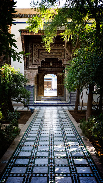 Bahia Palace Side Courtyard