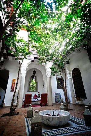 Riad Zolah Courtyard 2