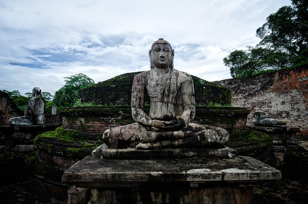 Polonaruwa Pensive  Budda