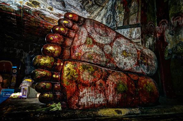 Sleeping Budda Feet