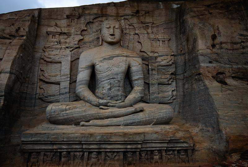 Polonaruwa Sitting Budda
