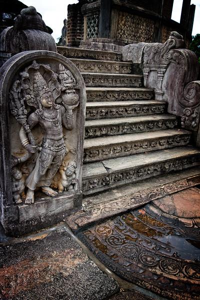 Polonaruwa Statue Steps