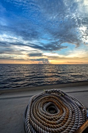 Dewi Rope & Sunset