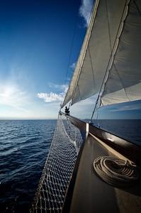 Dewi Nusantara Bow Sails