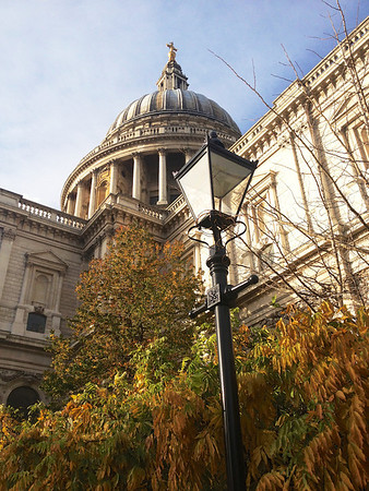 Saint Paul's Cathedral Street Light