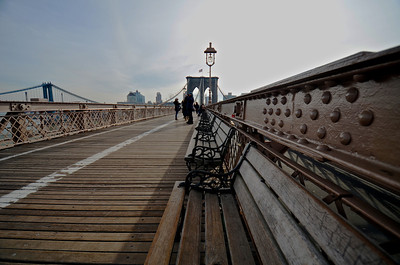 Brooklyn Bridge Benches