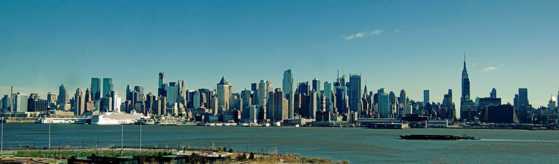 Manhattan Skyline from New Jersey