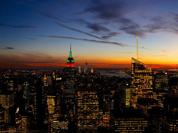 Empire State Sunset