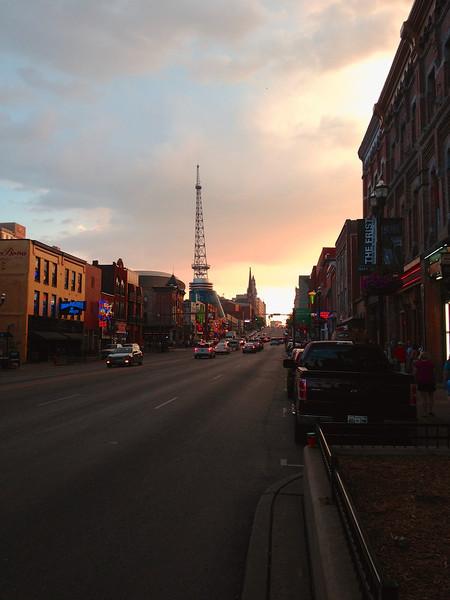 Broadway in Nashville