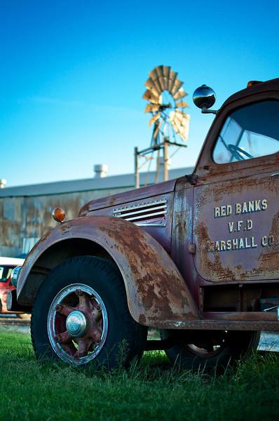 Marshall Fire Engine