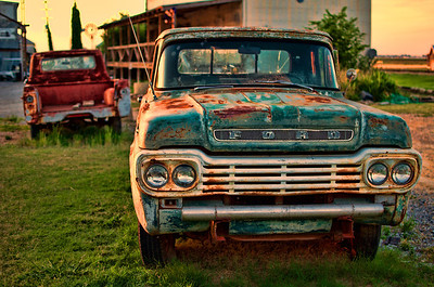 Retro Ford Pick Up