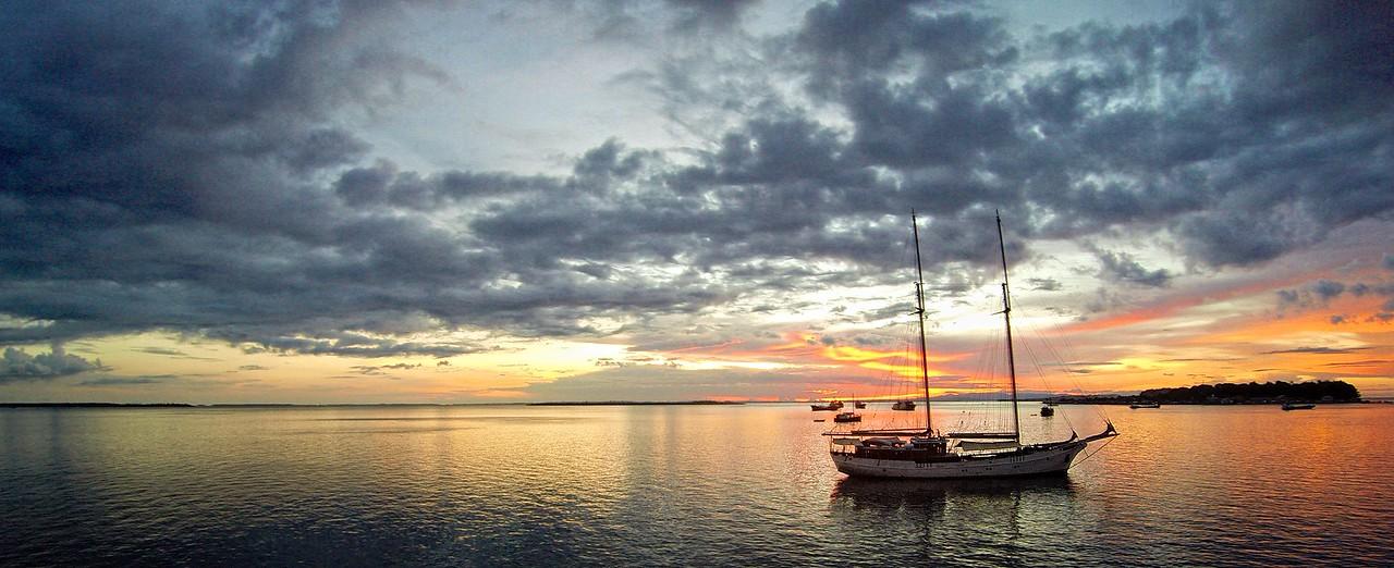 Sorong Yacht Sunset