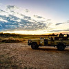 Safari Jeep Sunset