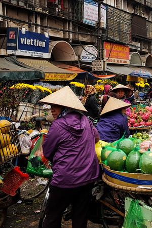 Hanoi, Vietnam, 18 February, 2016.