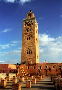 Koutoubia Mosque,  Marrekesh