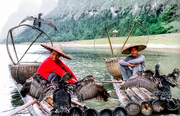 Fishermen, Li River, Yangshuo