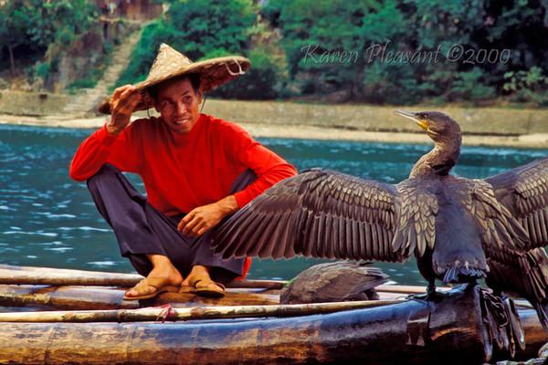 Fisherman, Li River, Yangshuo