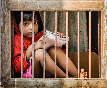 School girl, Bassi, India