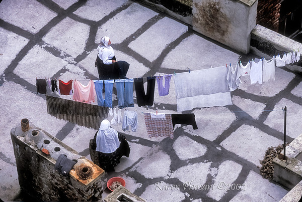 Roof top laundry