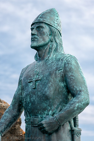 Leif Erikson statue, L'Anse aux Meadows
