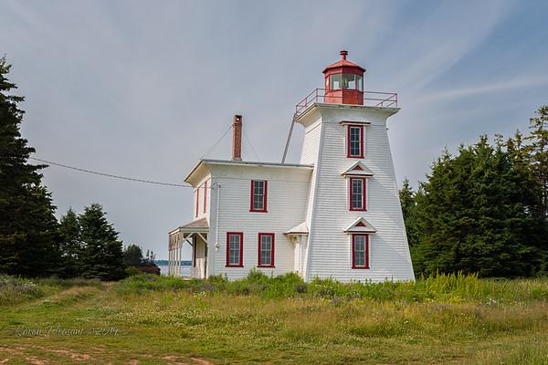 Blockhouse Point lighthouse
