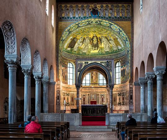 The Euphrasian Basilica in Porec