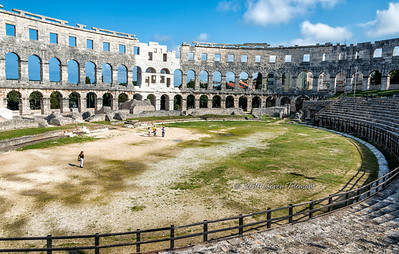 Pula arena, Roman amphitheatre
