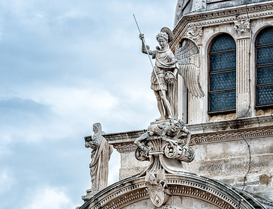 Statues on Cathedral of St. James, Sibenic
