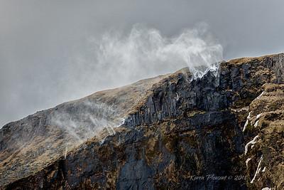 Winds blowing waterfalls skyward!