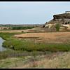 Bluff overlooking a creek